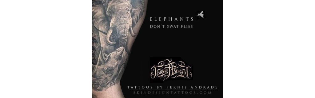 Elephants Dont Swat Flies