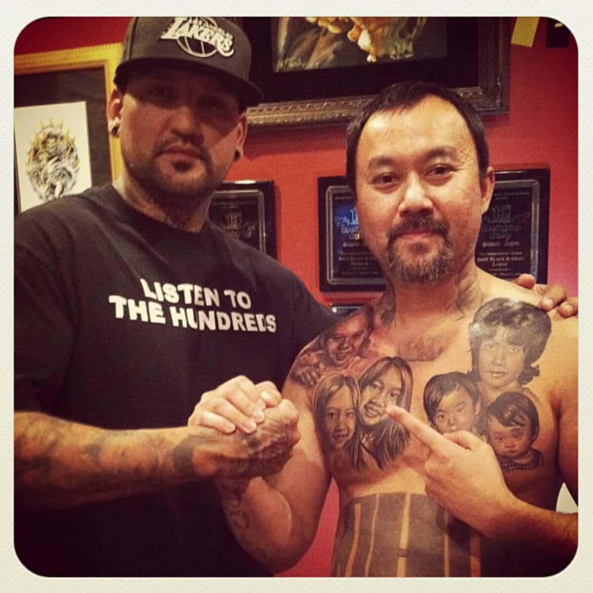 Skin Design Tattoo Chente Rios