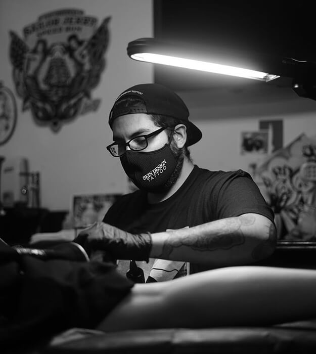 Skin Design Tattoo Claude Estrada